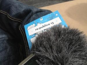 simulanten podcastvorbereitung auf der #rp13